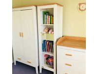 Baby Elegance 4 piece Nursery Furniture and mamas and papas accessories.