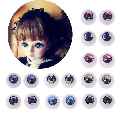 1/3 BJD Doll Safety Eyes Acrylic Eye 18mm for Night Lolita Bears Halloween Props (Halloween Eye Safety)