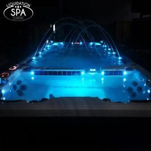 Swim Spa / Spa Nage Catalina 18.5 Marathon Duel Zone, Garantie 5ans & Livraison Inclus