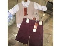 Baby boy 3 piece outfit age 9-12 months