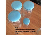 Kilner and clip top jars