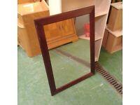 Darkwood Wall Mirror