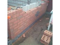 Bricklayer available, time served