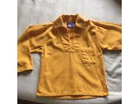 Age 6 Childs Yellow Cornish style sailors smock