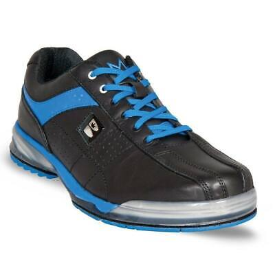 BRUNSWICK TPU BLUE/BLACK MENS INTERCHANGEABLE BOWLING SHOES RIGHT HANDED (Blue Mens Bowling Shoes)