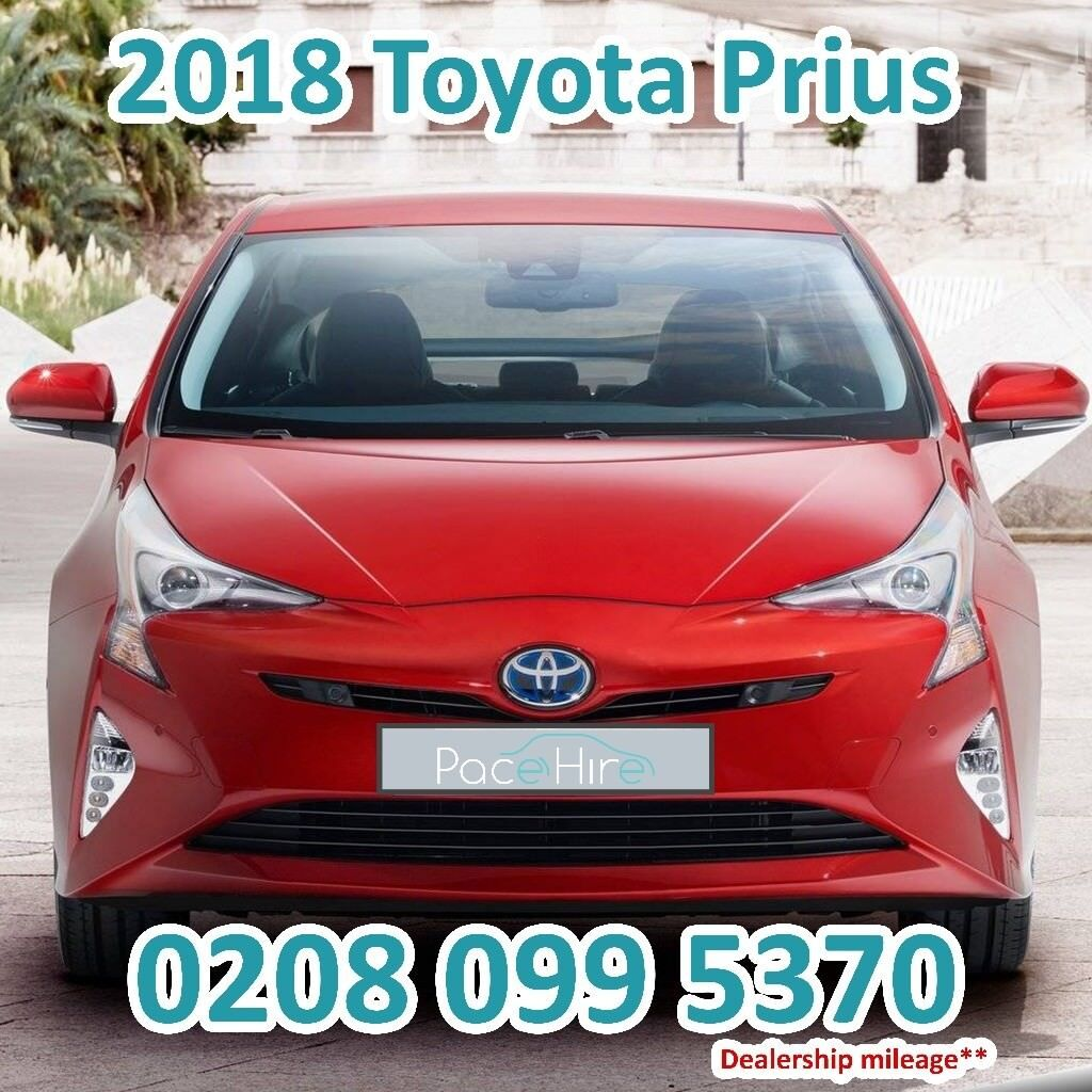 Cheapest Pco Car Hire Uber Rent Brand New Toyota Prius 2018