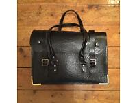 Vintage Railwayman's Leather Bag