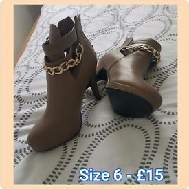 High heels boots clear out