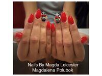 Gel Nails extensions, Gel polish