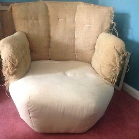 Chair for upholstery