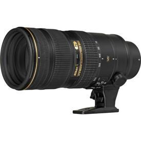 Nikon 70-200G vr11