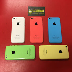 APPLE IPHONE 5C 32GB SIMFREE GRADE A COMES WITH CHARGER & 3 MONTHS WARRANTY***FREE DELIVERY******