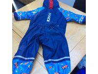 Outdoor suit for age 12-24