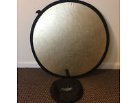 2 in 1 Reflector (Gold and silver)