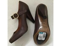 Marks & Spencer's Brown Leather shoes size 5