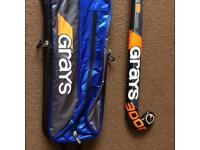 Grays Hockey stick and matching bag