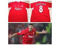 Liverpool 2004/05 Gerrard 8 Home Shirt (L)