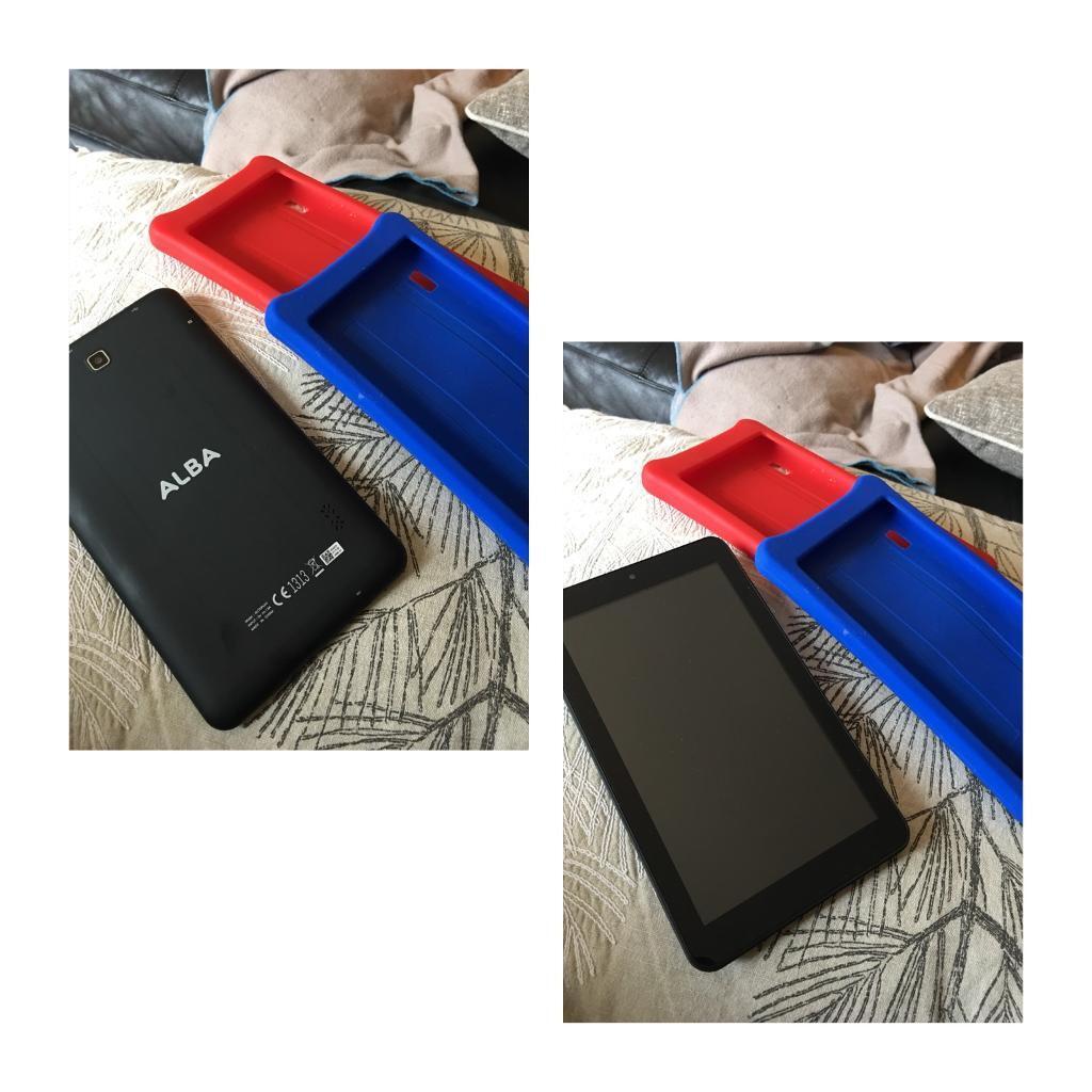 Alba 7 inch tablet.
