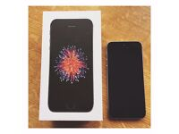 I Phone SE 64gb Unlocked Space Grey Immaculate Condition
