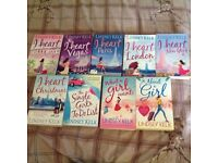 Lindsey Kelk book bundle, including 'I Heart...' Series, x9 Fab condition
