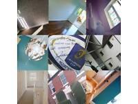 WORK WANTED , painter, decorator, tiler, plasterer,, handyman, bar, sales, office, flatpack