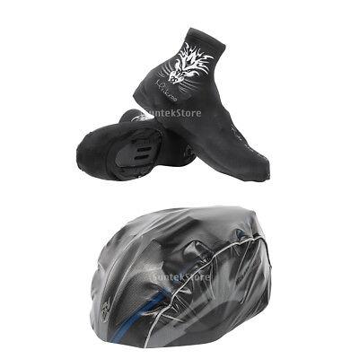 Adultos casco de bicicleta cubierta a prueba de lluvia MTB Road Bike