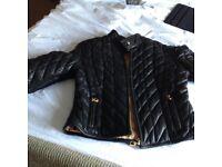 Ladies leather Baby Phat jacket (new)