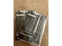 GCSE FRENCH REVISION BRAND NEW VOCAB BOOKS 9-1