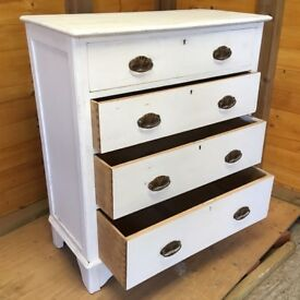 chic 4 draws cabinet