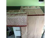 Pair Dunhelm Eyelet Curtains