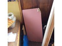 Fireboard (irregular shape) approx 85cm x 40