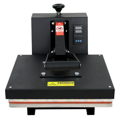 15x15dual Lcd Digital Heat Press Machine For T-shirts Htv Transfer Sublimation