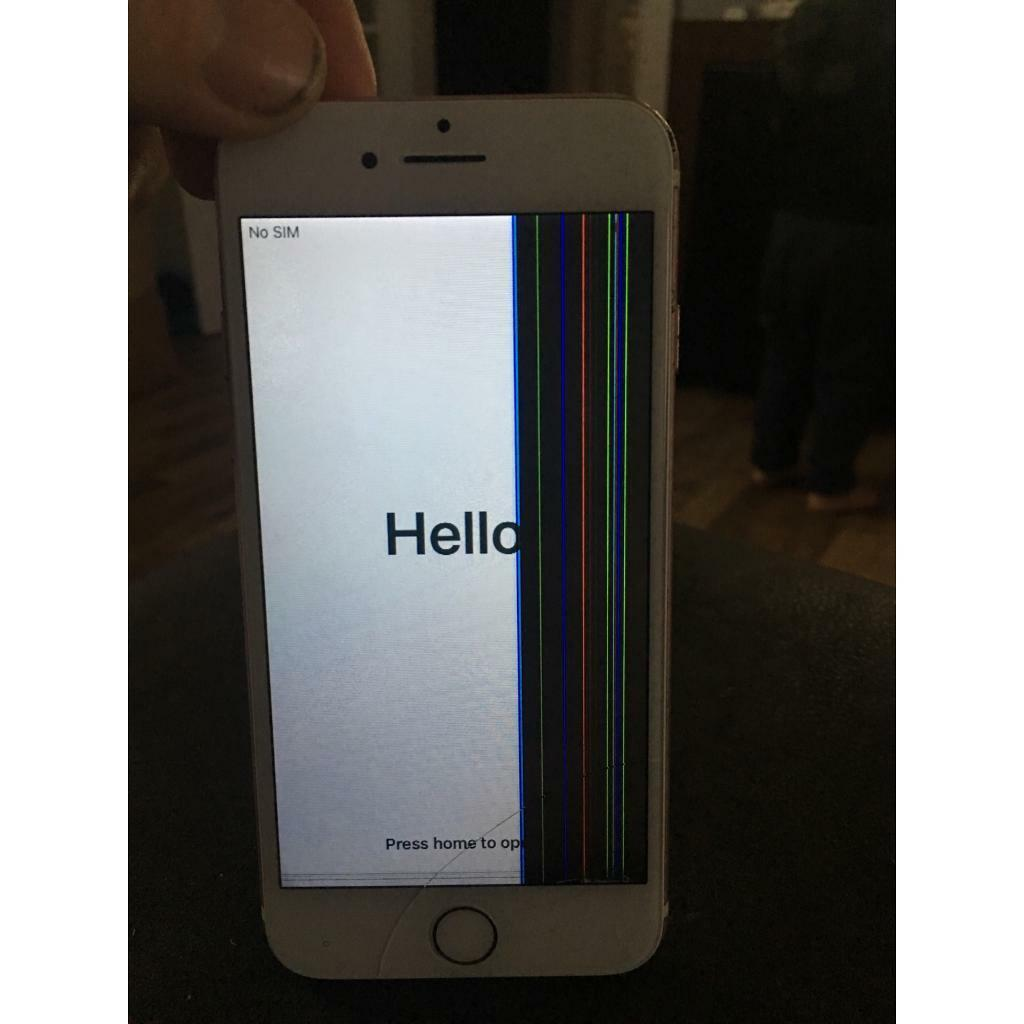info for e0d1a f7fe3 iPhone 7 16gb spares or repairs home button doesn't work | in Bathgate,  West Lothian | Gumtree