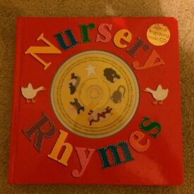 Nursery rhymes CD Book