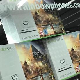 Xbox One S • 500GB • Assassins Creed Origin • Sealed Bundle • 1 Year Warranty