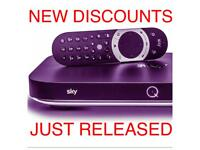 SKYQ Discounted INSTALLATION - Local Tradesmen - SKY TV - UPDATE