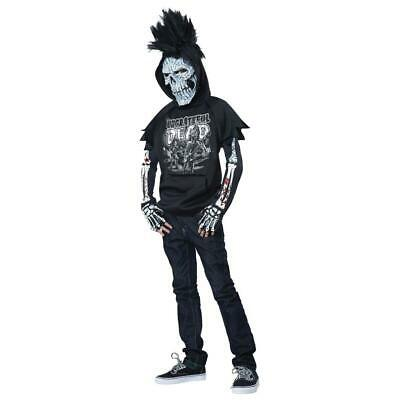 NEW TEEN BOYS TOTALLY GHOUL UNGRATEFUL DEAD HALLOWEEN COSTUME XL L AGES 10-14