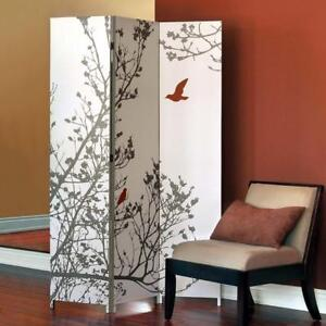 Nexxt Design FN16965-6 Bota Bird Canvas Room Divider (New Others)