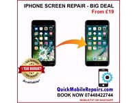 Apple iPhone FIX - Screen Repairs All Models 8, 8+, 7, 7+ Plus, 6, 6s, 5G, 5s, 5C, SE Ilford, London