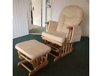 Glider nursing chair