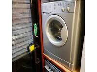 silver indesit 6 kg 1200 spin factory reconditioned 6 months warranty