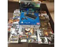 PS3 SLIM 500GB+SKYLANDER PACK+42 GAMES...HOURS OF FUN