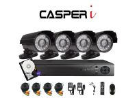 4CH 1080P 2.0MP Home Security Camera System In/Outdoor Video Monitoring CCTV Kit