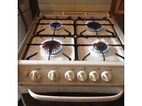 Cannon gas cooker,fold down lid,£95.00