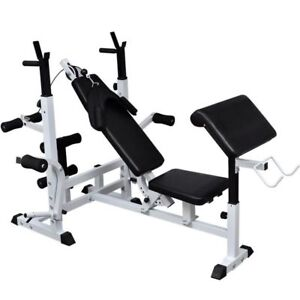 Adjustable Home  Workout Bench Weight Lifting Bench Multi Station Weight Bench