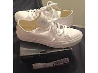 Brand New Converse All Star White Leather