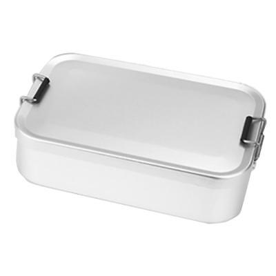 Aluminium Lunch Box with Clip Lock Outdoor Camping Food Container Mess Kit