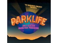 Parklife Festival weekend ticket