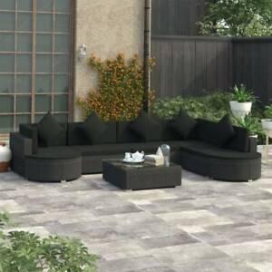 vidaXL 8 Piece Garden Lounge Set (SKU: 46751)