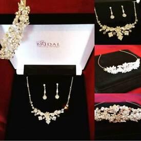 Bridal/prom jewellery Tiara